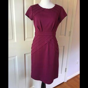 Max & Cleo Burgundy Maroon Dress. Size 4